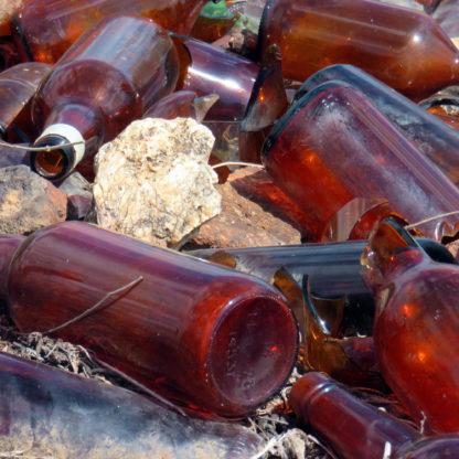 Glas affald bigbag