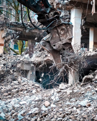 beton fjernes