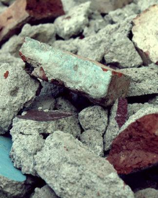 brokker, beton, mursten