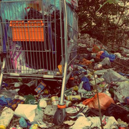 Deponi affald losseplads