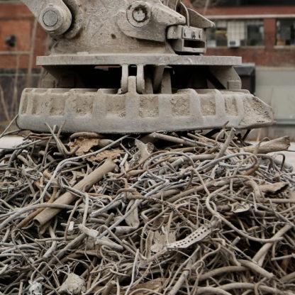Metal, jern affald
