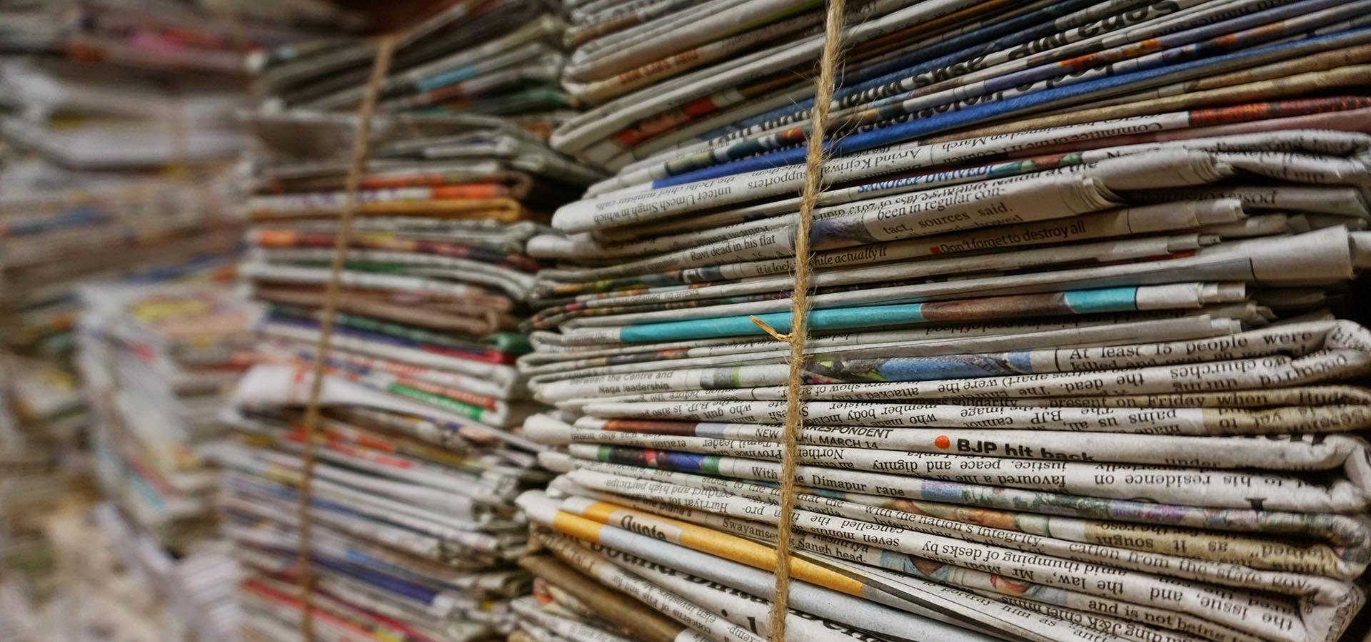 Affald papir og pap