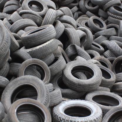 Affald bildæk