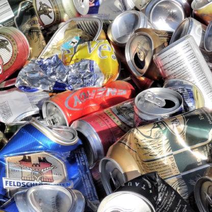 Affald dåser