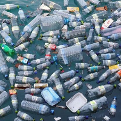 Plastik affald bigbag