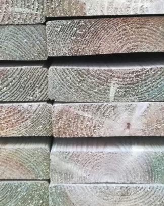 trykimprægneret træ